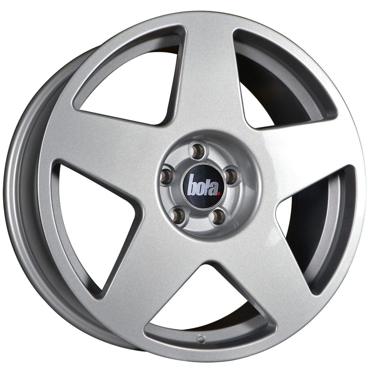 """18"""" BOLA B10 Wheels - Silver - VW / Audi / Mercedes - 5x112"""