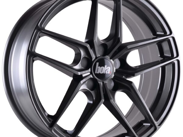"18"" BOLA B11 Wheels - Gloss Gunmetal - VW / Audi / Mercedes - 5x112"