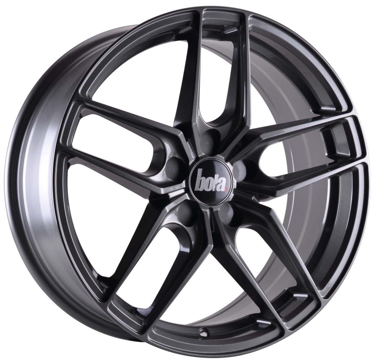 "19"" BOLA B11 Wheels - Gloss Gunmetal - VW / Audi / Mercedes - 5x112"
