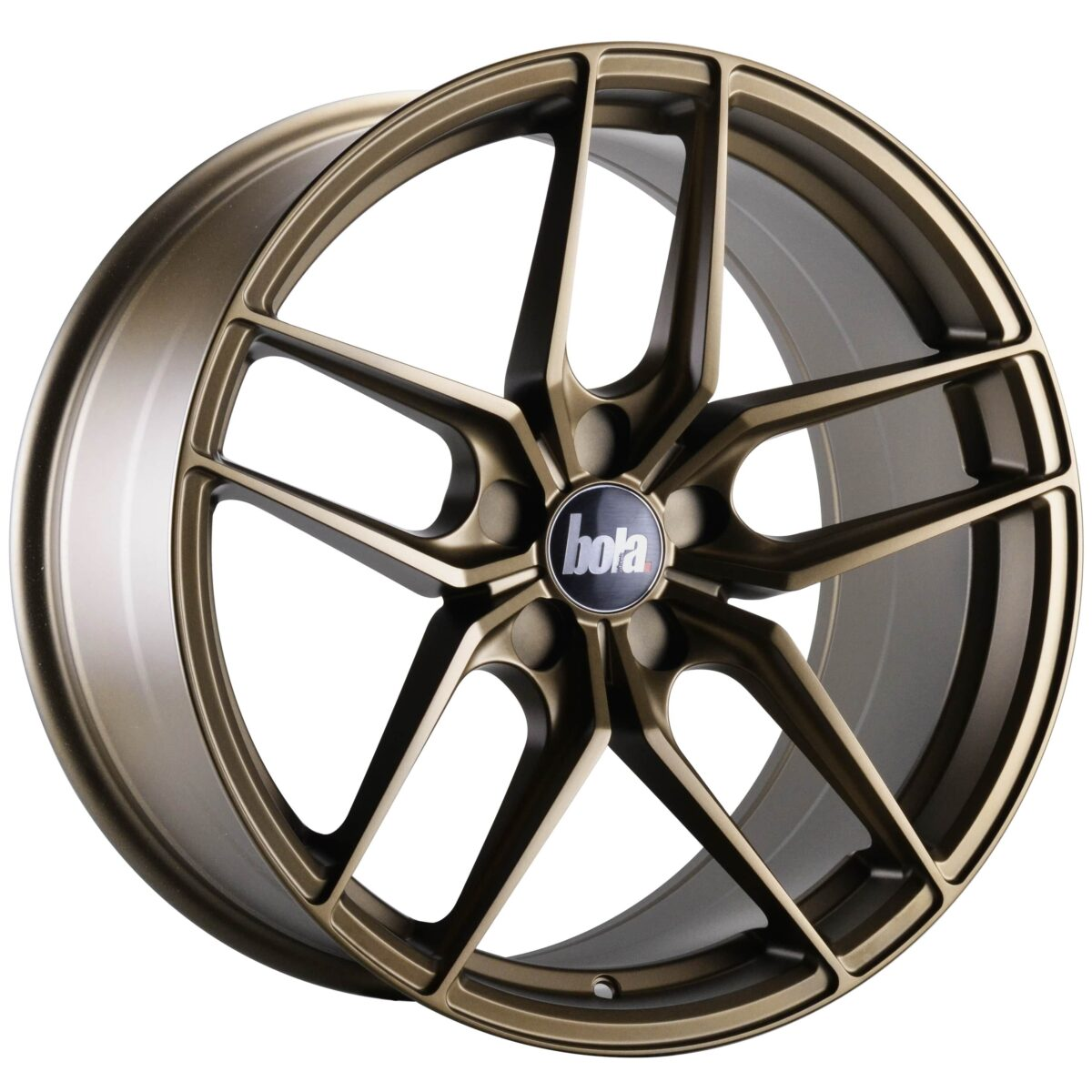 "18"" BOLA B11 Wheels - Matt Bronze - VW / Audi / Mercedes - 5x112"