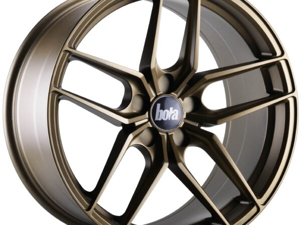 "18"" BOLA B11 Wheels - Matt Bronze - VW / Audi / Mercedes - 5x112"
