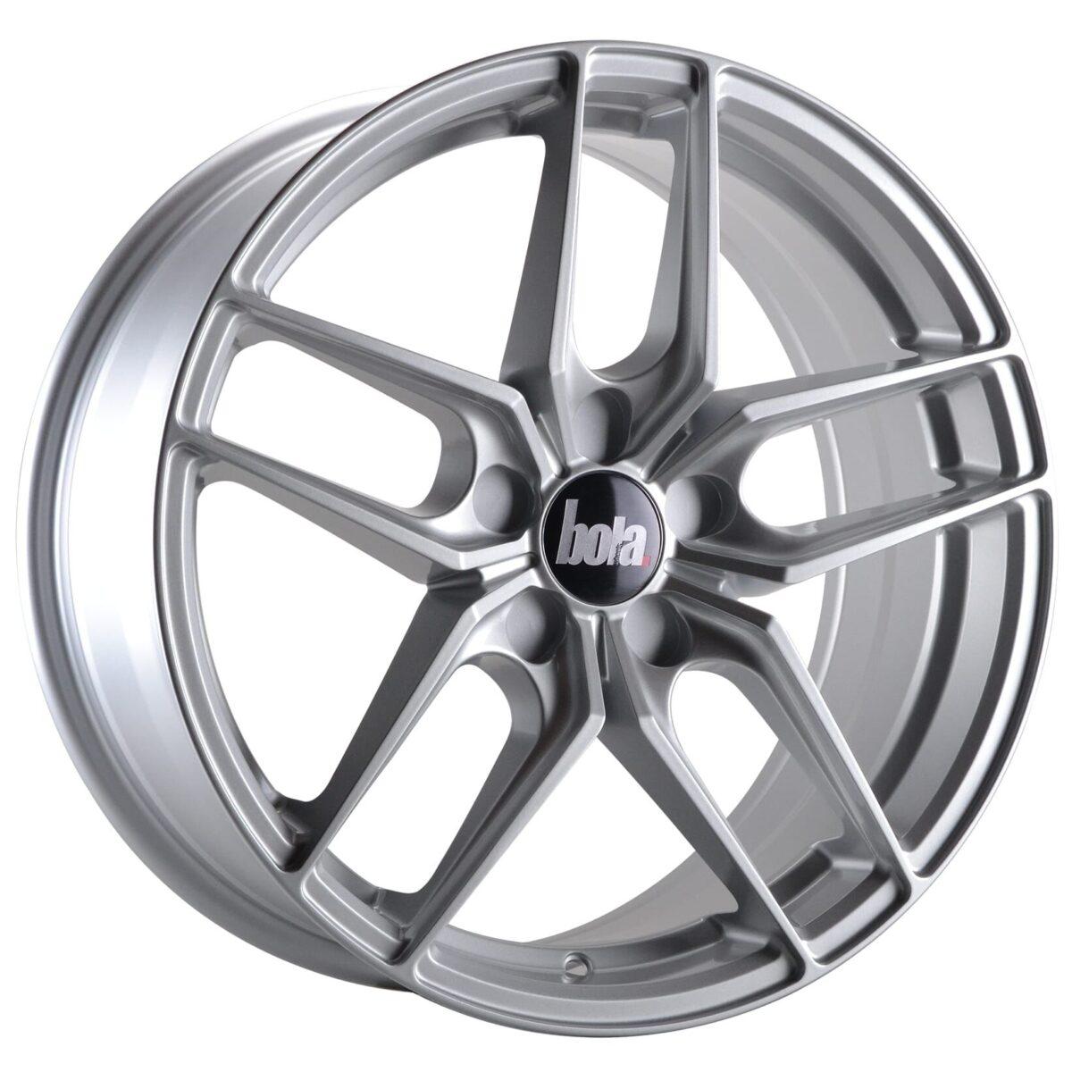 """18"""" BOLA B11 Wheels - Silver - VW / Audi / Mercedes - 5x112"""