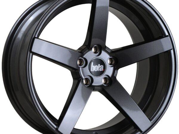 "18"" BOLA B2 Wheels - Gloss Gunmetal - All BMW Models"