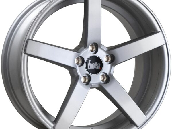 "18"" BOLA B2 Wheels - Silver - VW / Audi / Mercedes - 5x112"