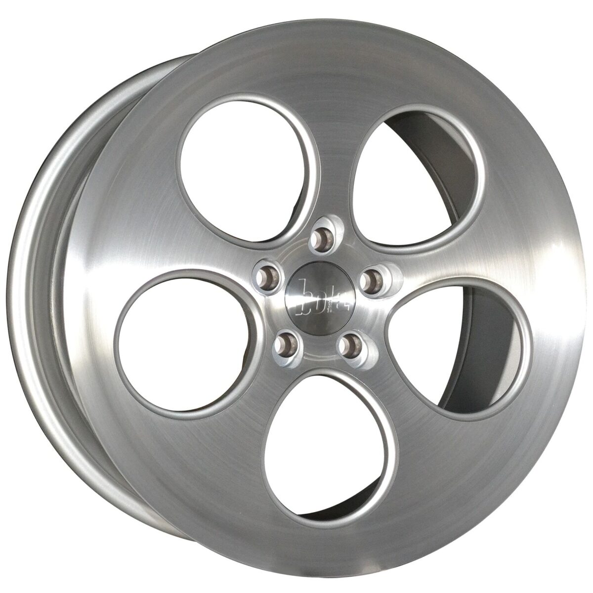 "18"" BOLA B5 Wheels - Silver Brushed Polished Face - VW / Audi / Mercedes - 5x112"