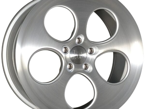"18"" BOLA B5 Wheels - Silver Brushed Polished Face - VW / Audi / Mercedes - 5x112"