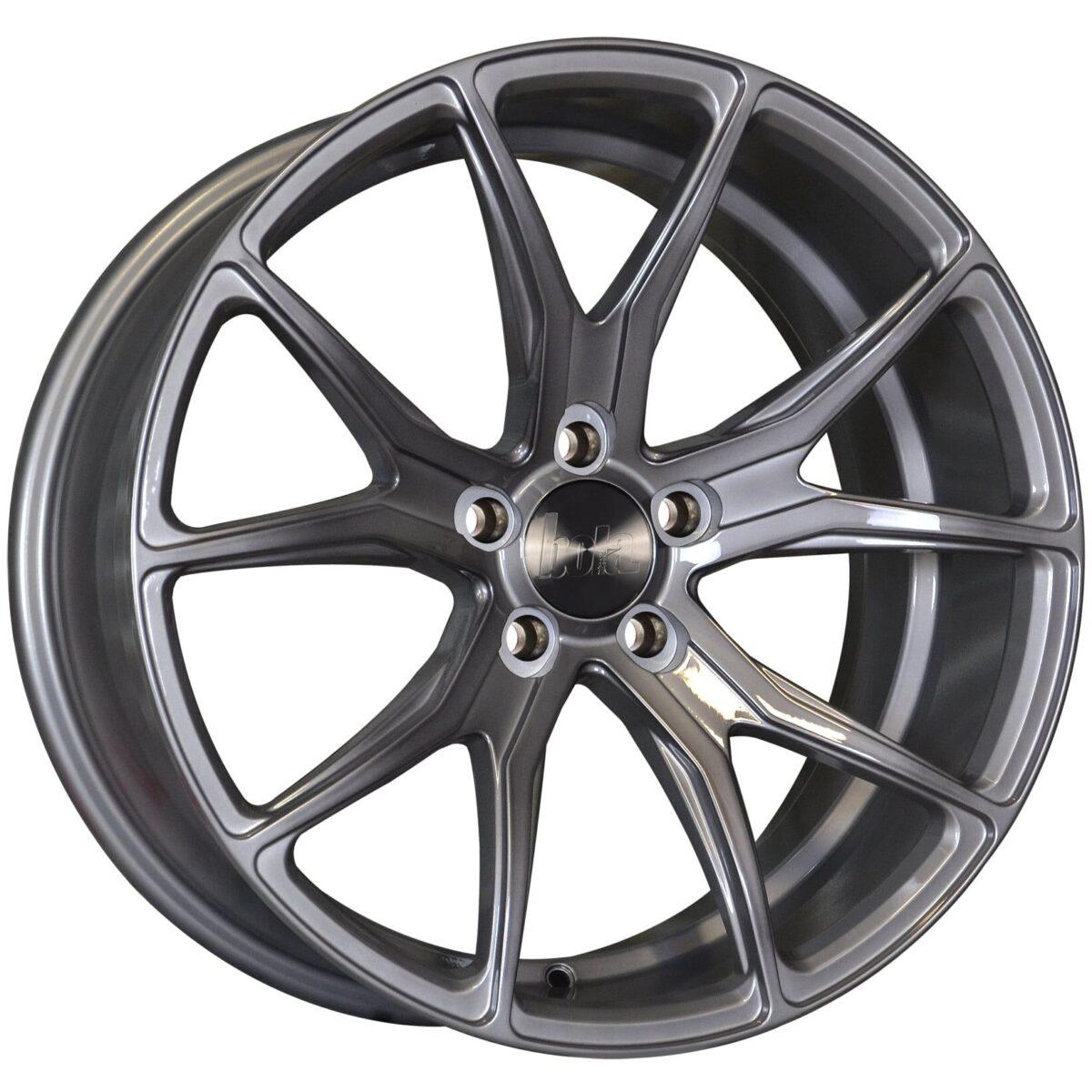 "18"" BOLA B6 Wheels - Gloss Titanium - All BMW Models"