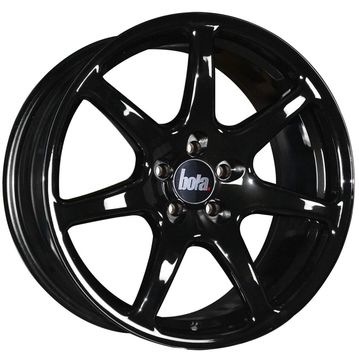 "18"" BOLA B7 Wheels - Gloss Black - VW / Audi / Mercedes - 5x112"