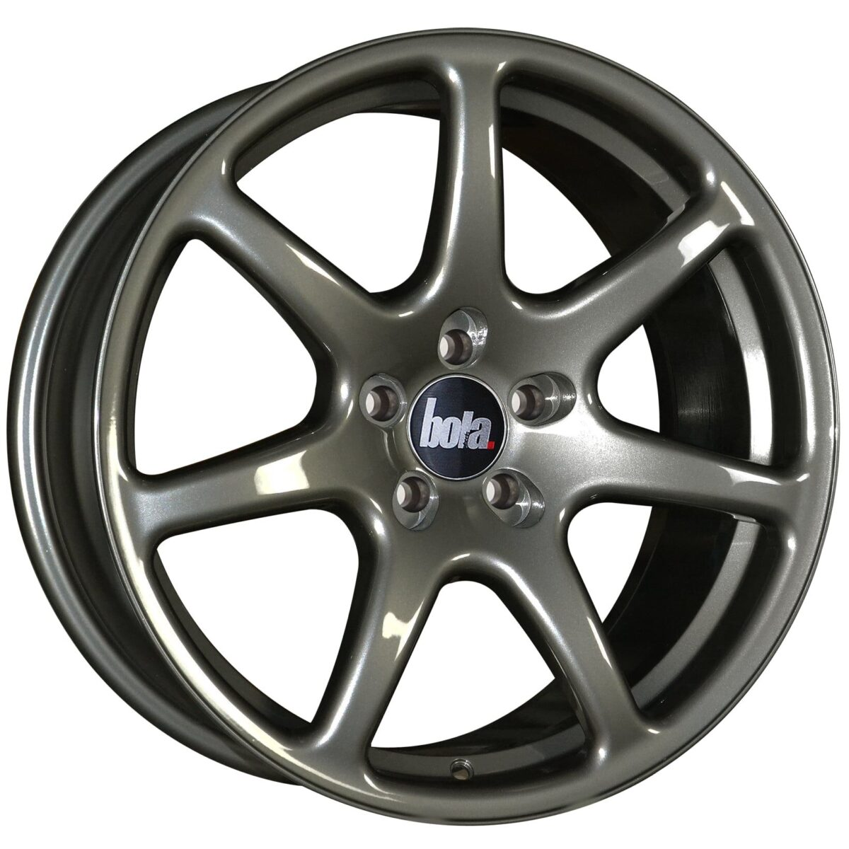 "18"" BOLA B7 Wheels - Gloss Gunmetal - VW / Audi / Mercedes - 5x112"