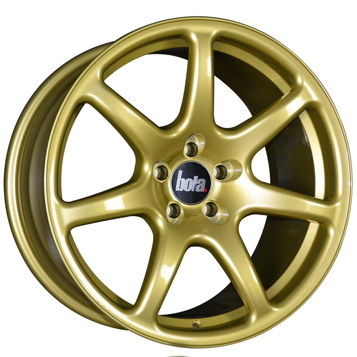 "18"" BOLA B7 Wheels - Gold - VW / Audi / Mercedes - 5x112"