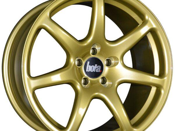 "18"" BOLA B7 Wheels - Gold - VW / Audi / Mercedes - 5x112"