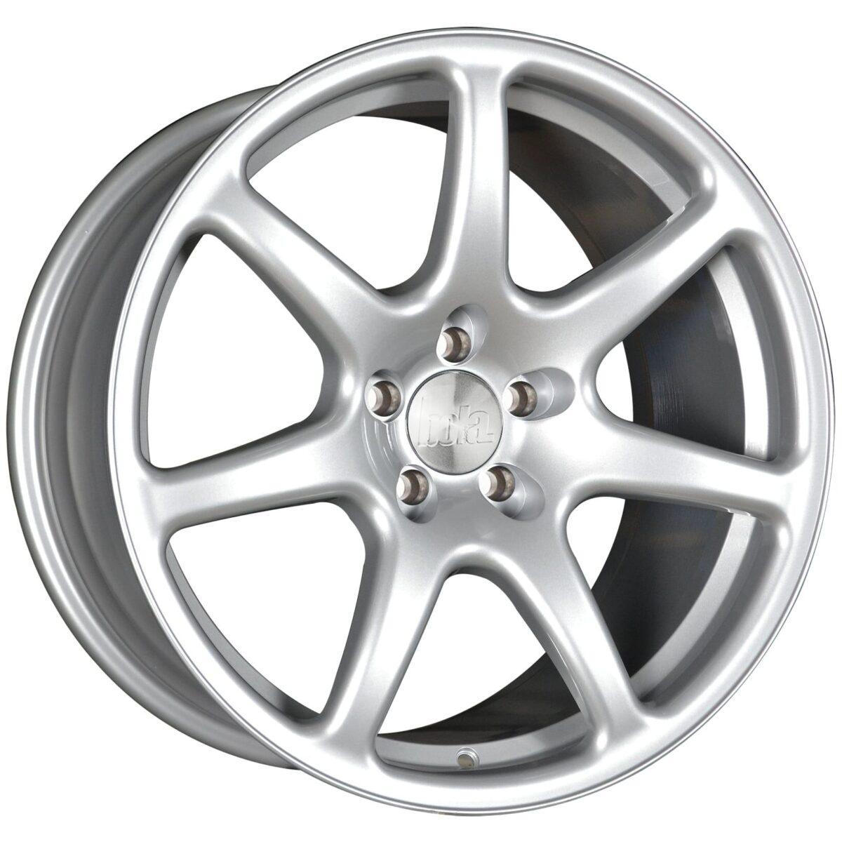 """18"""" BOLA B7 Wheels - Silver - VW / Audi / Mercedes - 5x112"""