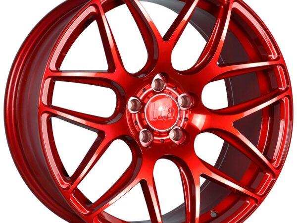 """19"""" BOLA B8R Wheels - Candy Red - All BMW Models"""