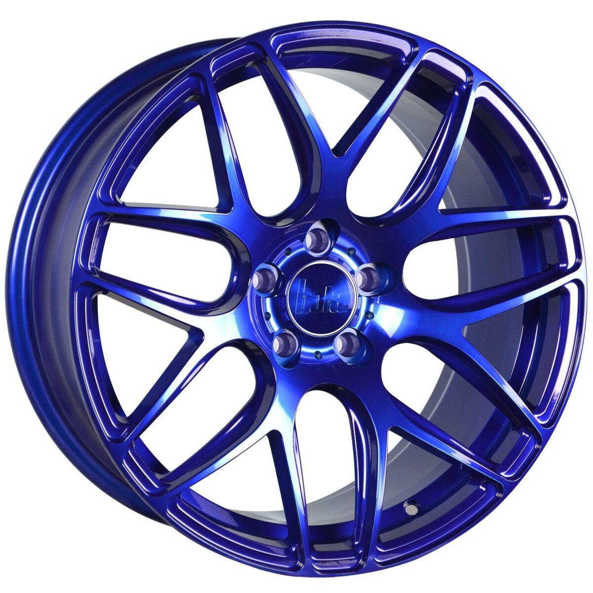 """18"""" BOLA B8R Wheels - Candy Blue - VW / Audi / Mercedes - 5x112"""