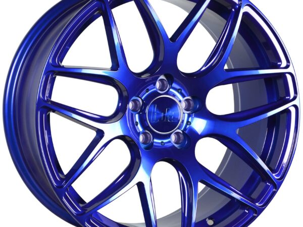"18"" BOLA B8R Wheels - Candy Blue - VW / Audi / Mercedes - 5x112"