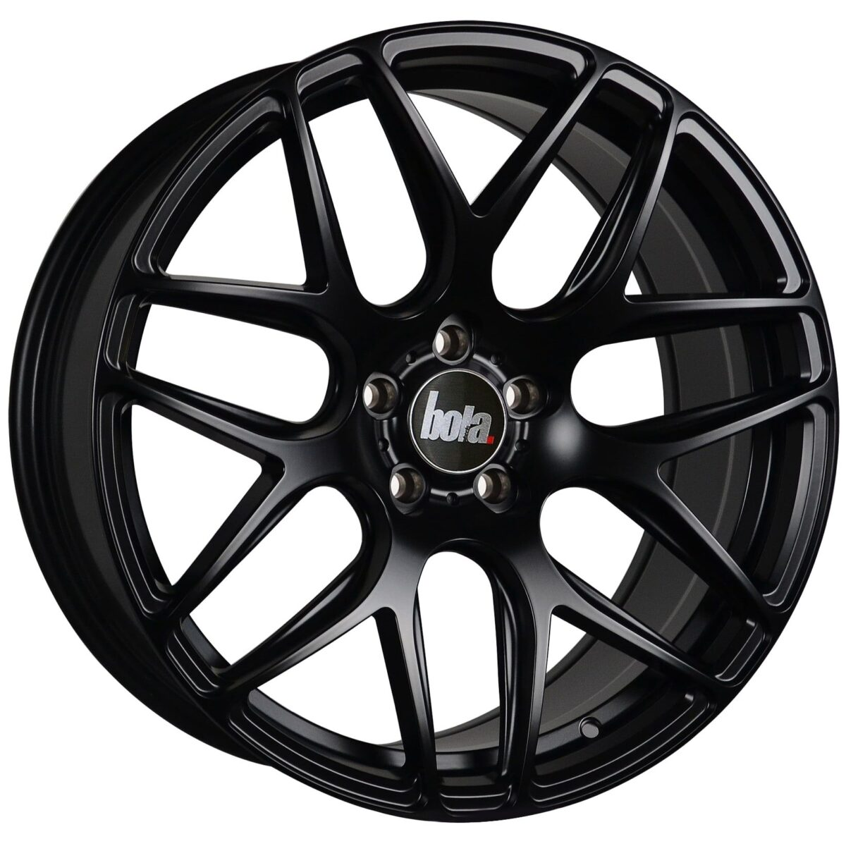 "18"" BOLA B8R Wheels - Matt Black - VW / Audi / Mercedes - 5x112"
