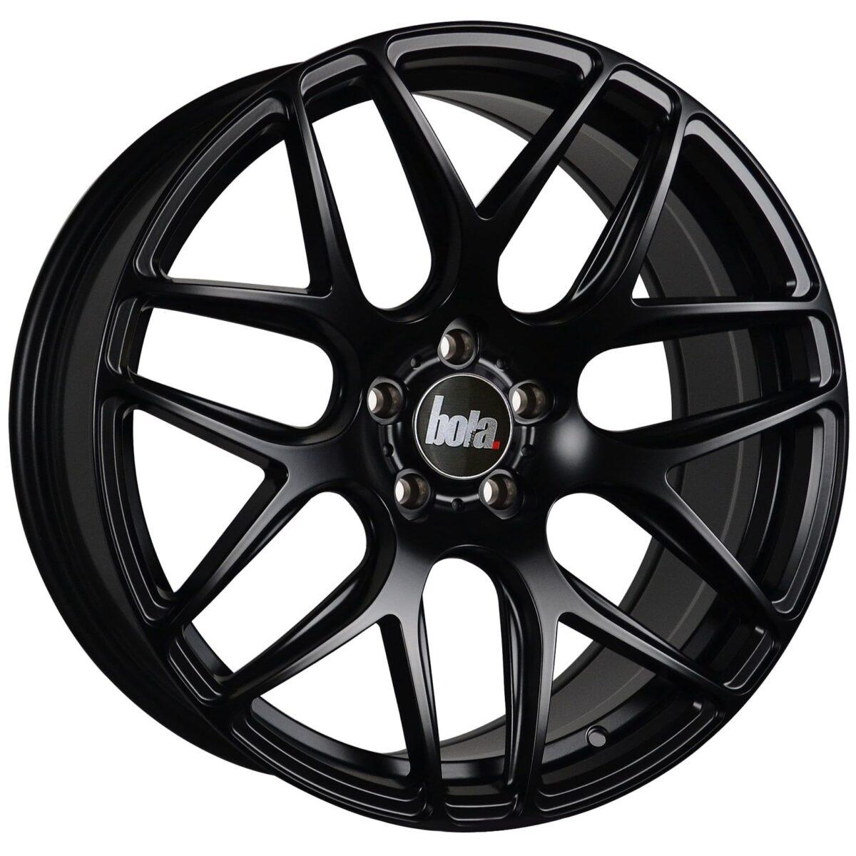 """18"""" BOLA B8R Wheels - Matt Black - All BMW Models"""