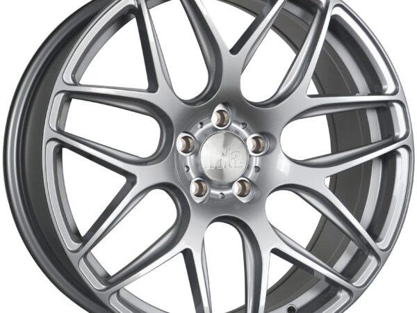 """19"""" BOLA B8R Wheels - Silver - VW / Audi / Mercedes - 5x112"""