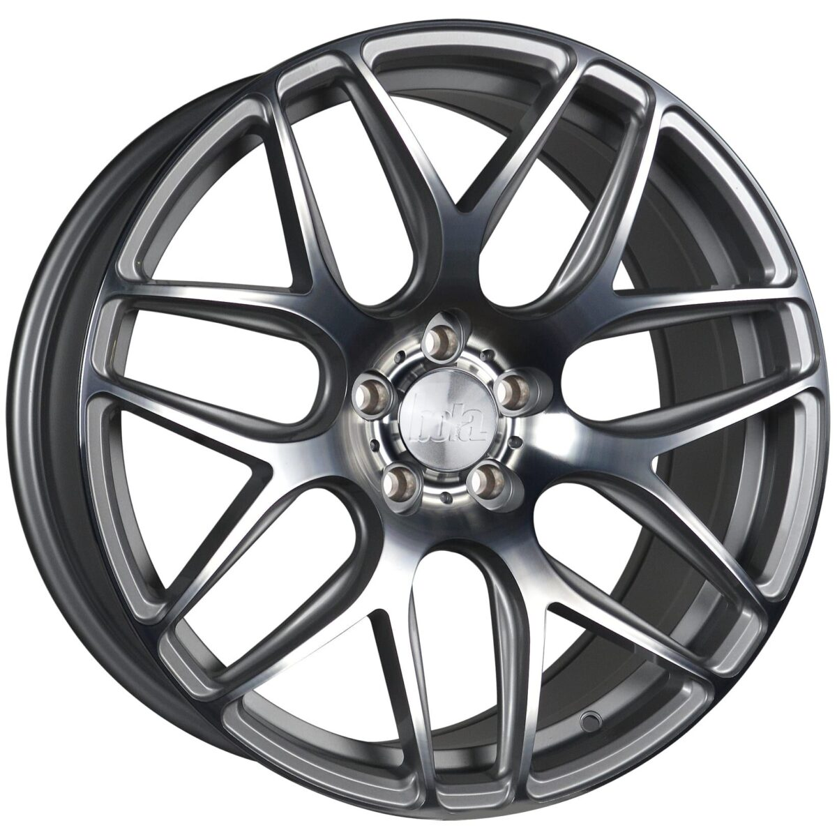 "18"" BOLA B8R Wheels - Silver Polished Face - VW / Audi / Mercedes - 5x112"