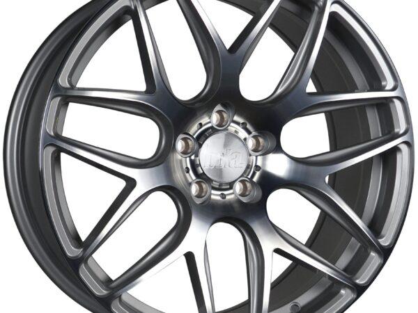 """18"""" BOLA B8R Wheels - Silver Polished Face - VW / Audi / Mercedes - 5x112"""
