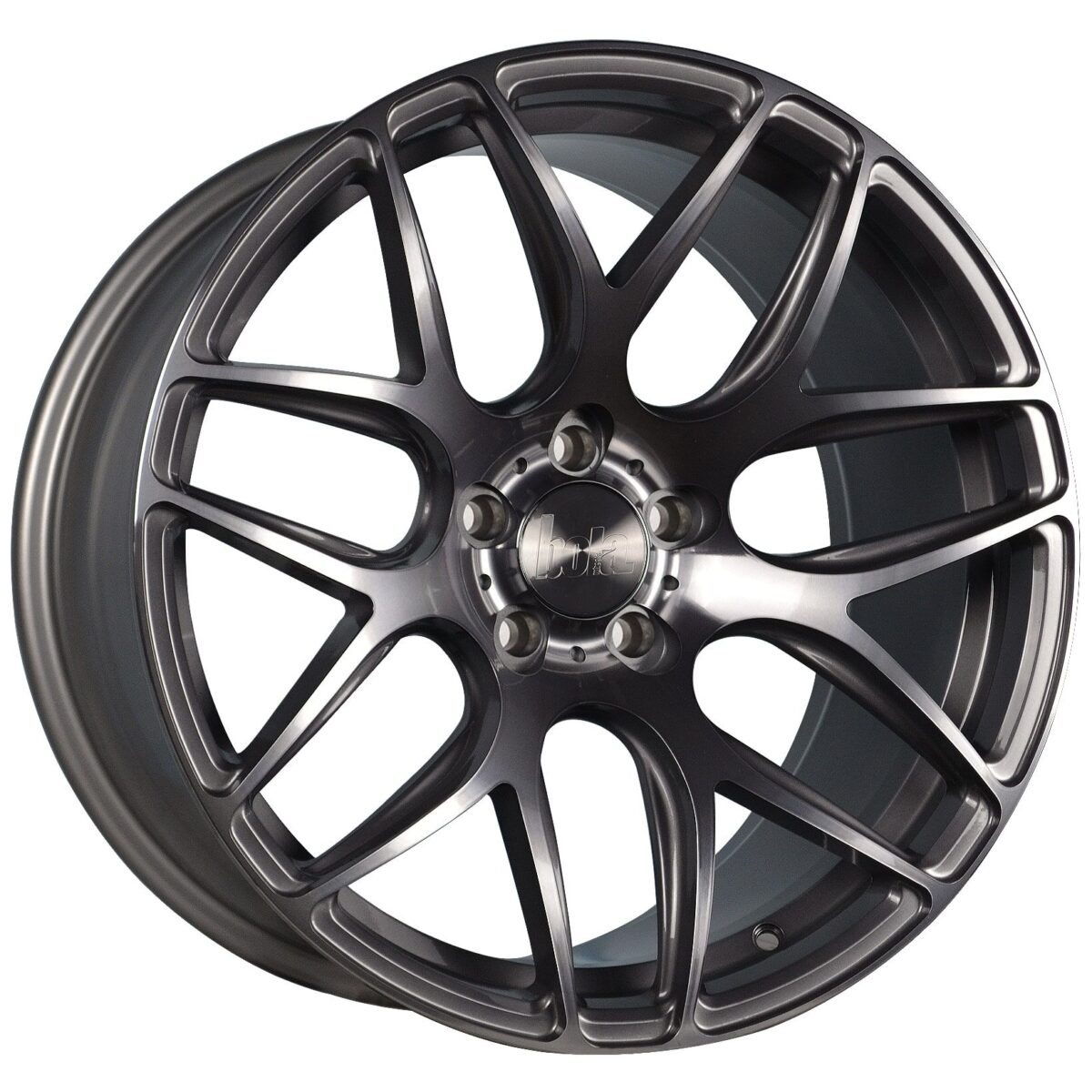 "18"" BOLA B8R Wheels - Gloss Titanium - VW / Audi / Mercedes - 5x112"