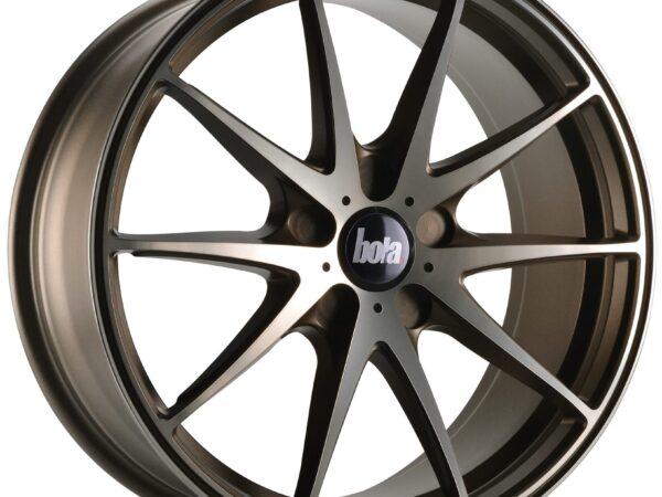 """18"""" BOLA B9 Wheels - Hyper Bronze - VW / Audi / Mercedes - 5x112"""