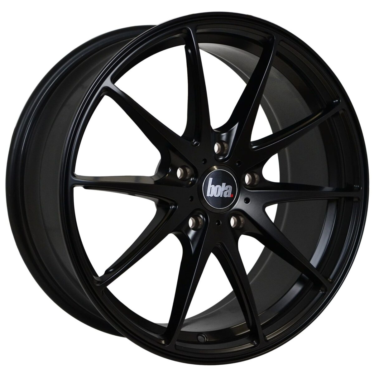 "18"" BOLA B9 Wheels - Matt Black - VW / Audi / Mercedes - 5x112"