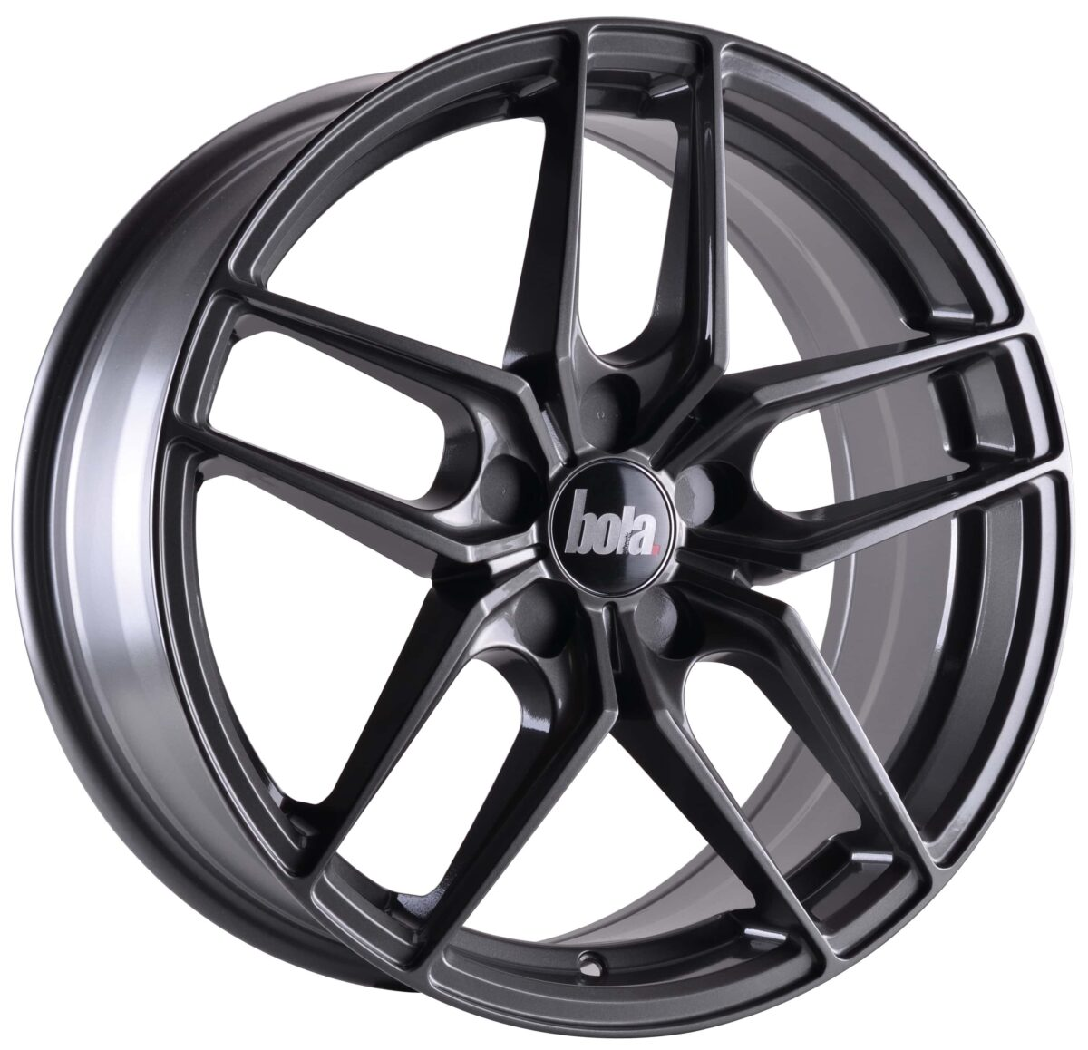"19"" BOLA B11 Wheels - Gloss Gunmetal - All BMW Models"