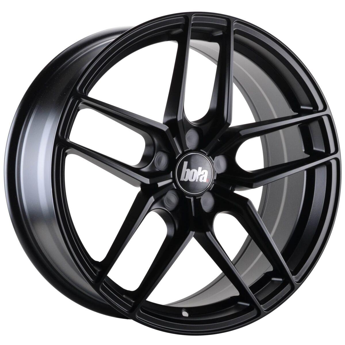"19"" BOLA B11 Wheels - Matt Black - All BMW Models"