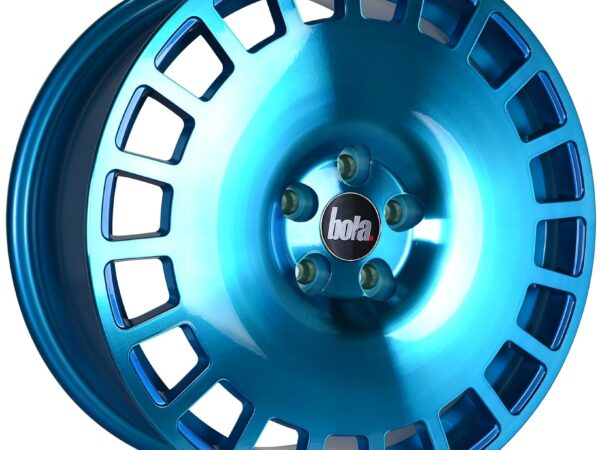 "18"" BOLA B12 Wheels - Hyper Blue - VW / Audi / Mercedes - 5x112"