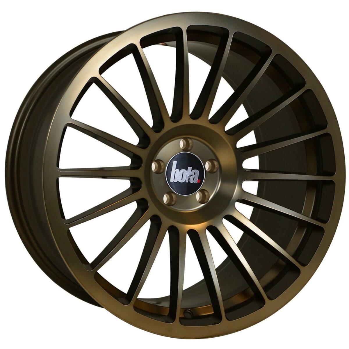 """18"""" BOLA B14 Wheels - Hyper Bronze - VW / Audi / Mercedes - 5x112"""