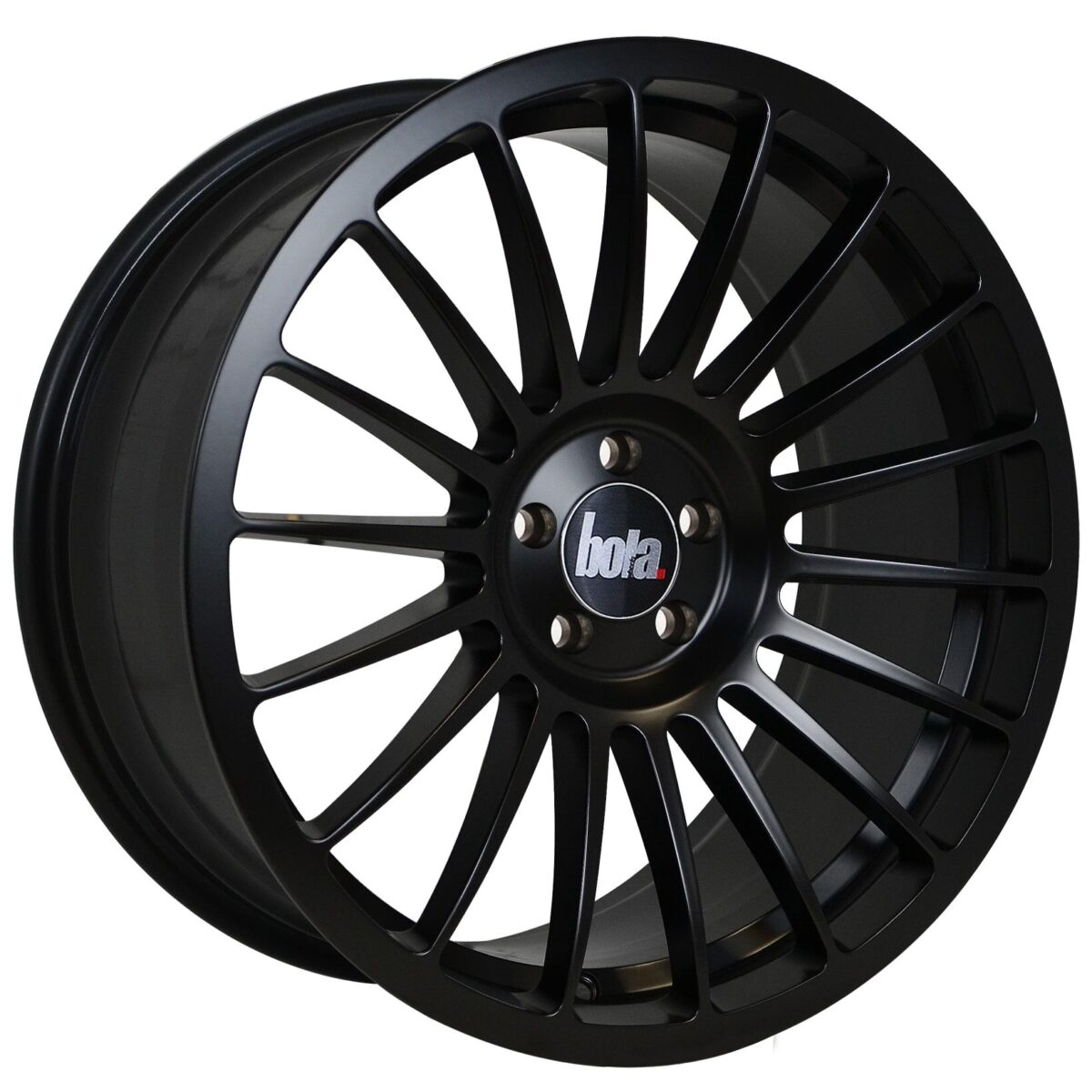 "18"" BOLA B14 Wheels - Matt Black - VW / Audi / Mercedes - 5x112"