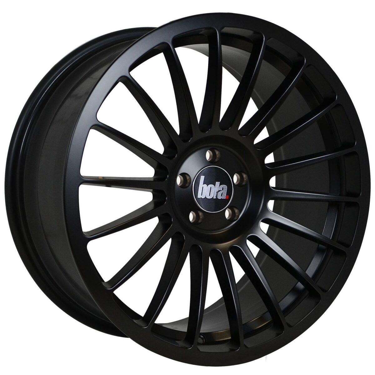 "18"" BOLA B14 Wheels - Matt Black - All BMW Models"