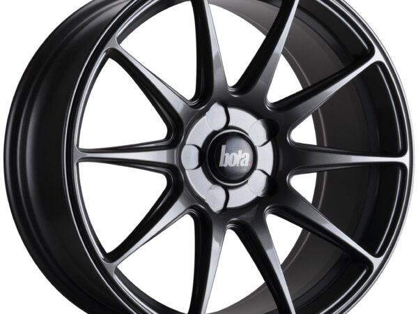 "18"" BOLA B15 Wheels - Gloss Gunmetal - VW / Audi / Mercedes - 5x112"