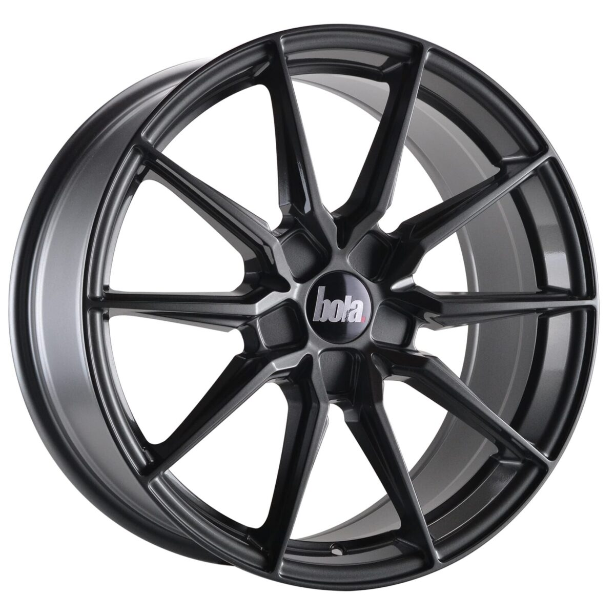 "19"" BOLA B16 Wheels - Gloss Gunmetal - All BMW Models"