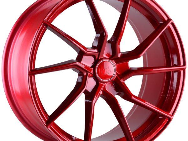 "18"" BOLA B25 Wheels - Candy Red - All BMW Models"