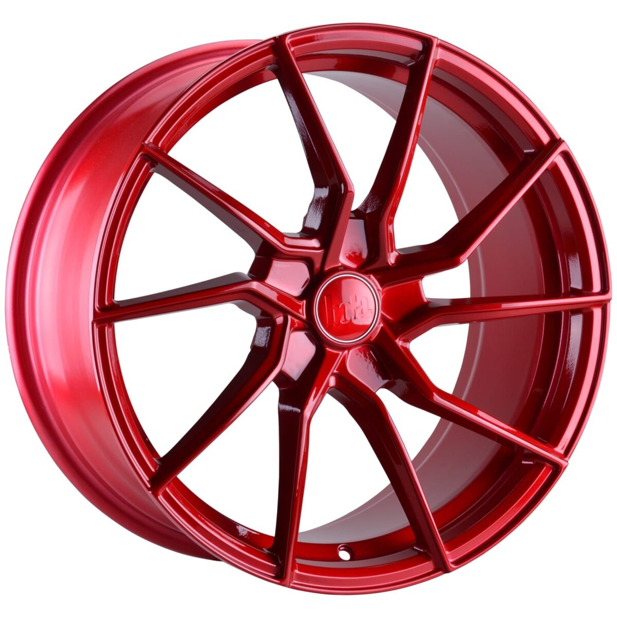 "18"" BOLA B25 Wheels - Candy Red - VW / Audi / Mercedes - 5x112"