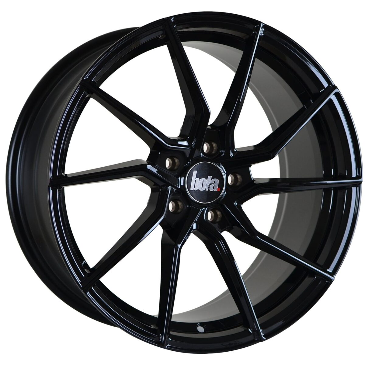 "19"" BOLA B25 Wheels - Gloss Black - All BMW Models"