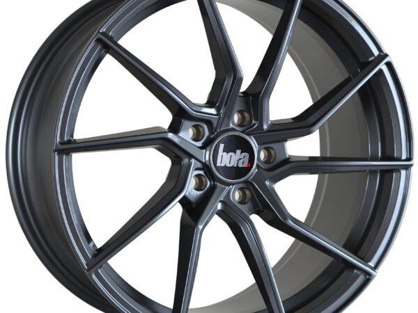 "19"" BOLA B25 Wheels - Gloss Gunmetal - VW / Audi / Mercedes - 5x112"