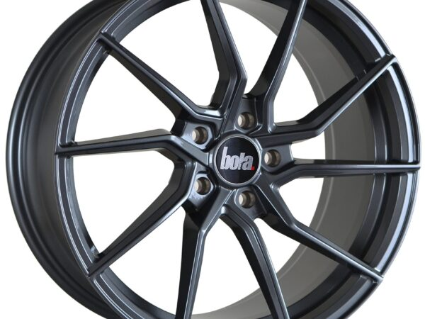 "18"" BOLA B25 Wheels - Gloss Gunmetal - VW / Audi / Mercedes - 5x112"