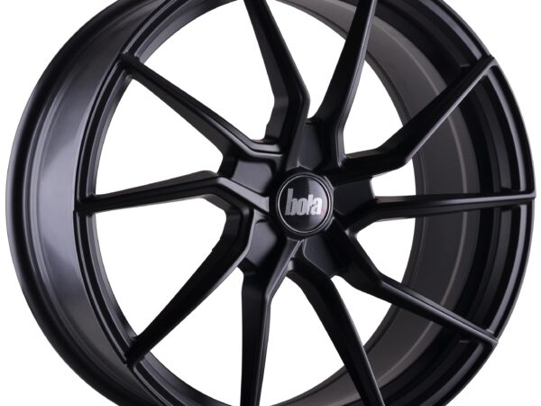 "19"" BOLA B25 Wheels - Matt Black - All BMW Models"