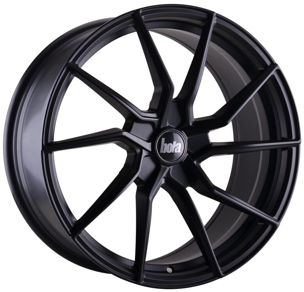 "19"" BOLA B25 Wheels - Matt Black - VW / Audi / Mercedes - 5x112"