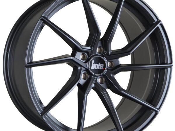 "19"" BOLA B25 Wheels - Matt Gunmetal - All BMW Models"