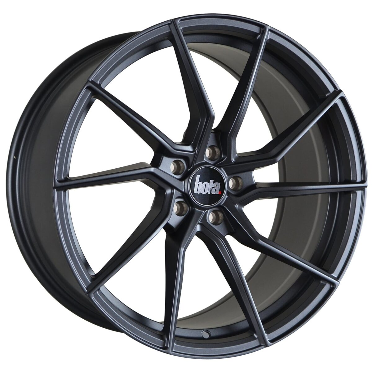 "19"" BOLA B25 Wheels - Matt Gunmetal - VW / Audi / Mercedes - 5x112"