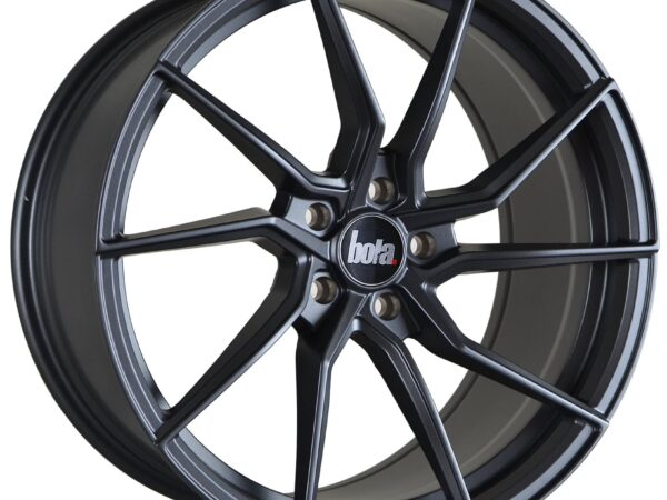 "19"" BOLA B25 Wheels - Matt Gunmetal - VW / Audi / Mercedes - 5x112"