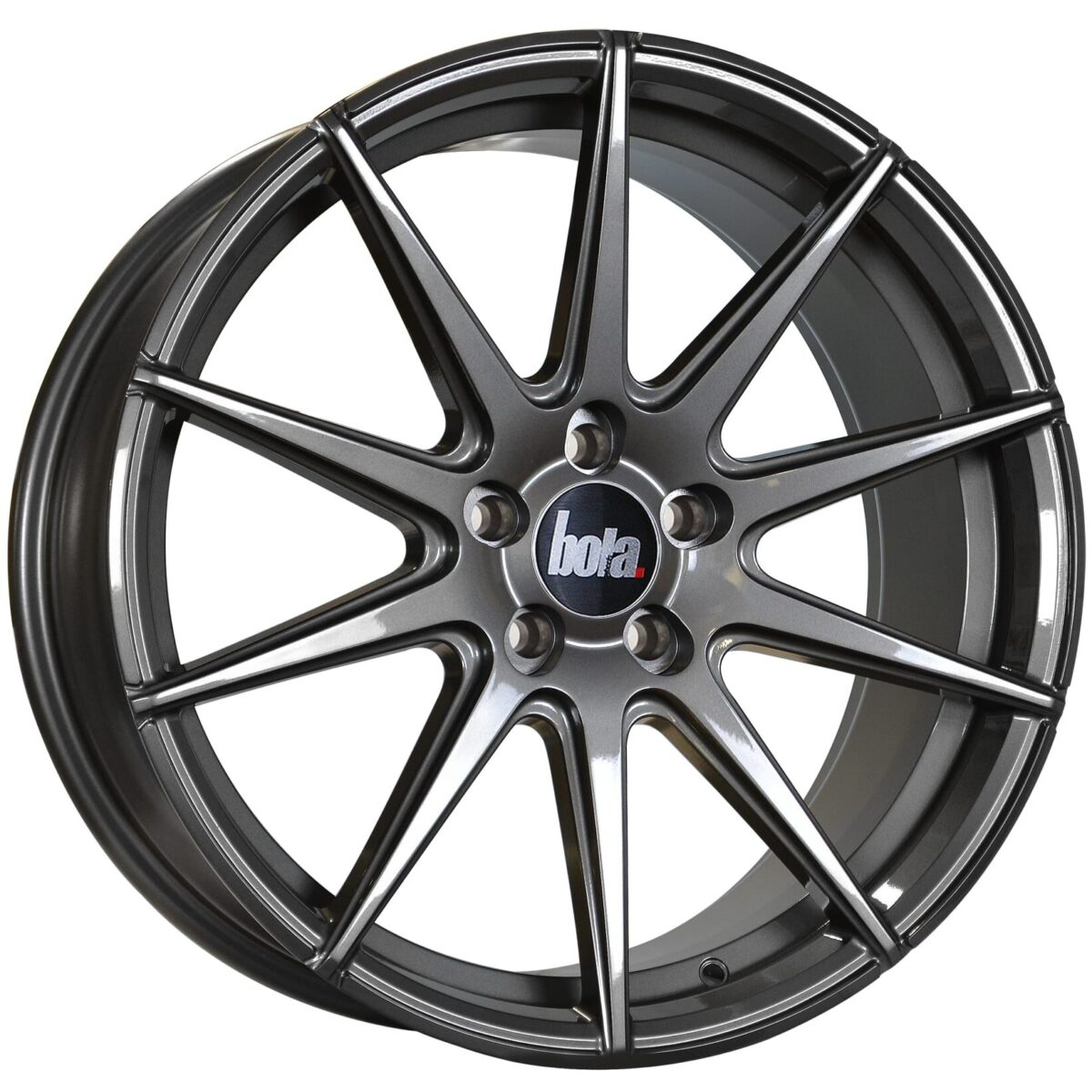 "19"" BOLA CSR Wheels - Gloss Gunmetal - All BMW Models"
