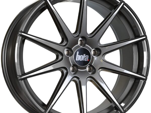 """19"""" BOLA CSR Wheels - Gloss Gunmetal - All BMW Models"""