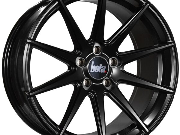 "19"" BOLA CSR Wheels - Matt Black - VW / Audi / Mercedes - 5x112"