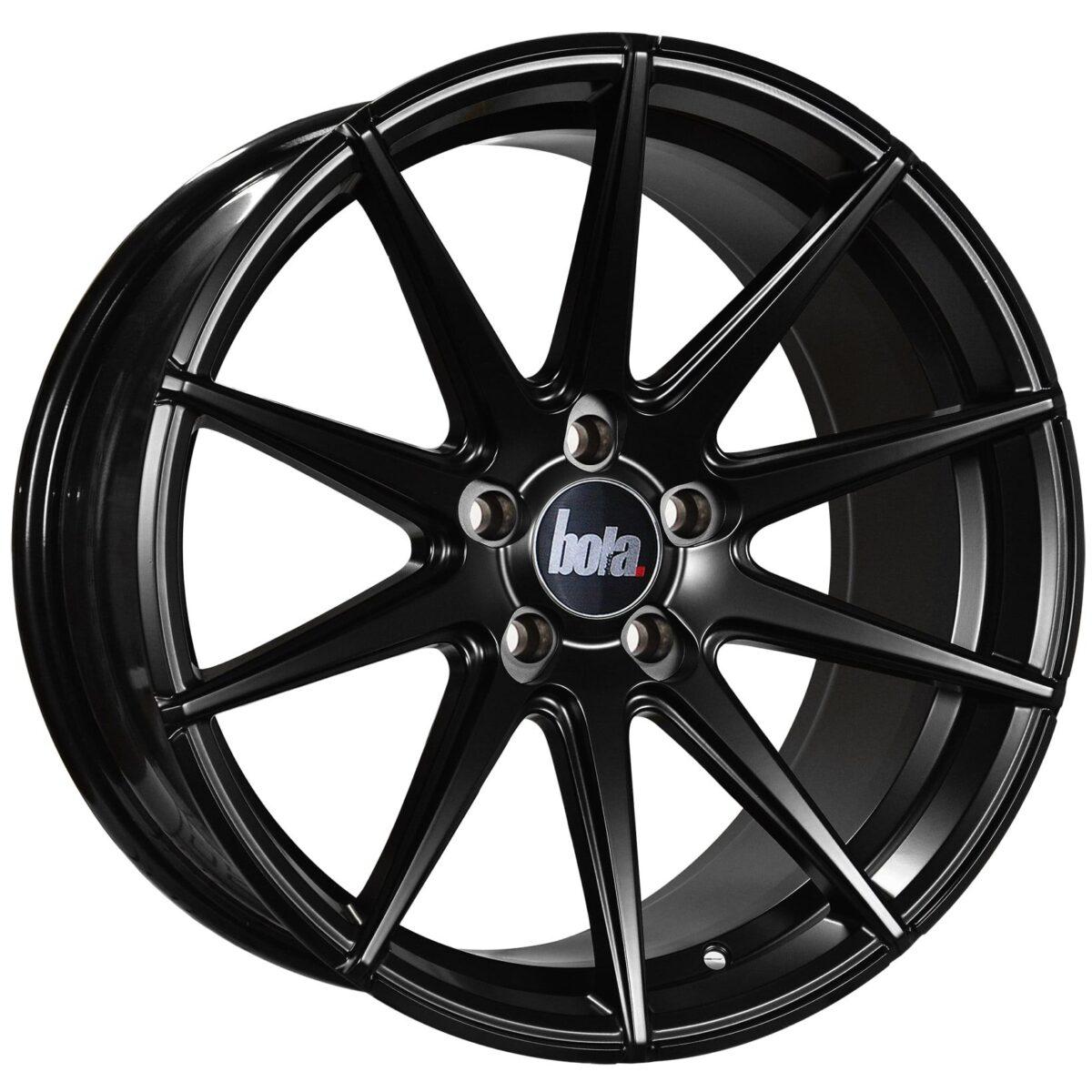 """19"""" BOLA CSR Wheels - Matt Black - VW / Audi / Mercedes - 5x112"""