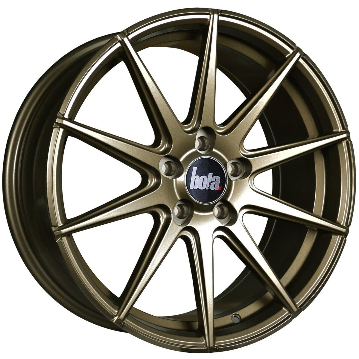 "19"" BOLA CSR Wheels - Matt Bronze - VW / Audi / Mercedes - 5x112"